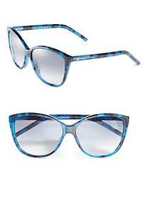 Marc Jacobs 58MM Butterfly Sunglasses BLUE