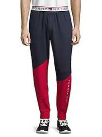 Tommy Hilfiger Colorblock Fleece Joggers NAVY RED