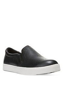 Dr. Scholl's Scout Slip-on Leather Sneakers BLACK