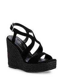 Charles by Charles David Damon Suede Wedge Espadri