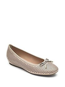 Rockport Total Motion Perforated Bow Leather Balle