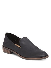 Lucky Brand Cahill Leather Loafers BLACK