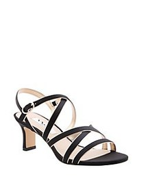 Nina Genaya Strappy Sandals BLACK