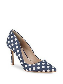 Charles by Charles David Vicky Dotted Pumps NAVY W