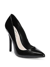 Fergie Alexi Patent Leather Pumps BLACK