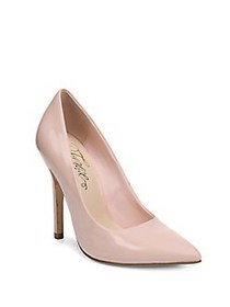 Fergie Alexi Glossy Patent Pumps PINK