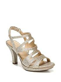 Naturalizer Dianna Strappy Slingback Sandals GOLD