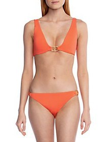 BCBGeneration Vintage Solids Ring Bikini Top HOT C