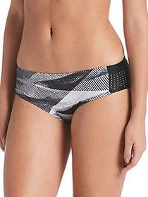 Nike Lineup Hipster Swim Bottoms BLACK