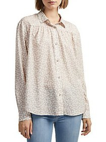 French Connection Printed Button-Down Shirt MACCHI