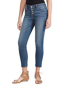 Jessica Simpson Forever Rolled Ankle Jeans SPURS