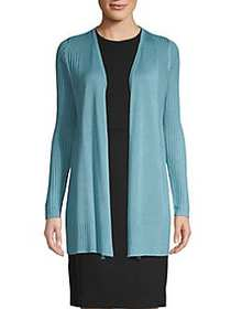 Premise Open-Front Long-Sleeve Cardigan AZURE