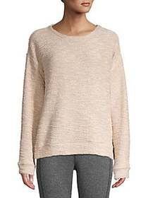 Marc New York Performance Boucle-Knit Sweatshirt B