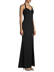 Likely Claire Halter Gown BLACK