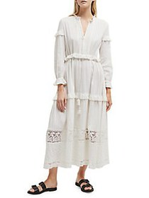 French Connection Colette Cotton A-Line Maxi Dress