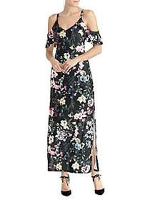 RACHEL Rachel Roy Gaia Printed Jersey Maxi Dress B