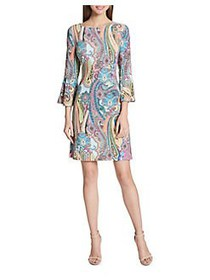 Tommy Hilfiger Jaipur Paisley Bell-Sleeve A-Line D