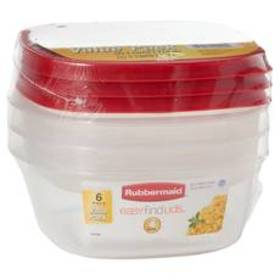 Rubbermaid Easy Find Lids 6pc. Storage Value Pack