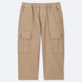 BOYS CARGO CROPPED PANTS