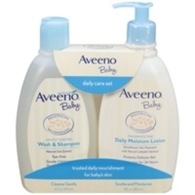 Aveeno Baby Daily Care Set with Natural Oat Extrac