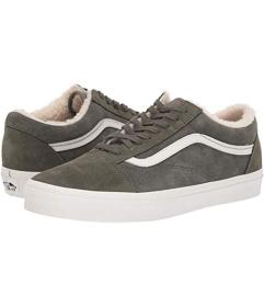 Vans (Suede/Sherpa) Grape Leaf/Dusty Olive