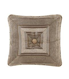 J. Queen New York Bradshaw Mitered Square Pillow