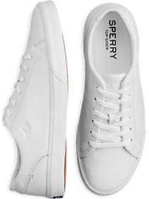 Sperry Wahoo White Leather Sneaker