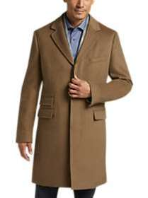 Joseph Abboud Tan Modern Fit Topcoat