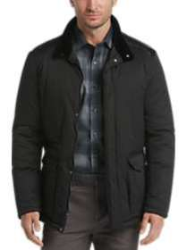Pronto Uomo Black Quilted Jacket