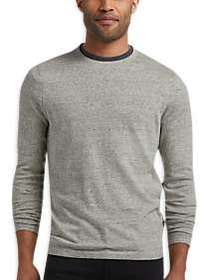 JOE Joseph Abboud Gray Crew-Neck Sweater