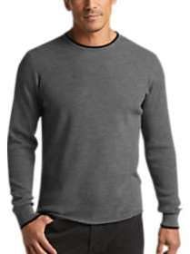 Joseph Abboud Grey Performance Knit Sweater
