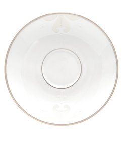 Lenox Opal Innocence Scroll Platinum Bone China Sa