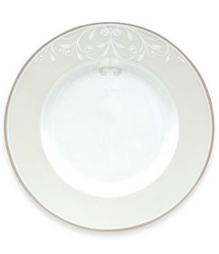 Lenox Opal Innocence Scroll Platinum Bone China Ac