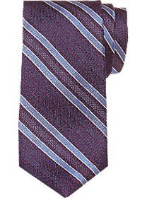 Joseph Abboud Purple & Blue Stripe Narrow Tie