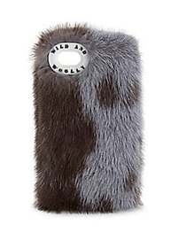 Wild and Woolly Mink iPhone 7 Case GREY