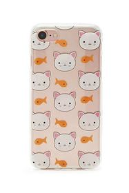 Forever21 Cat & Fish Case For iPhone 7/8