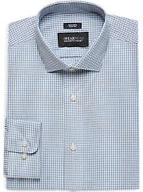 Awearness Kenneth Cole Light Blue Check Slim Fit D