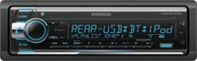 Kenwood - In-Dash CD Receiver - Built-in Bluetooth