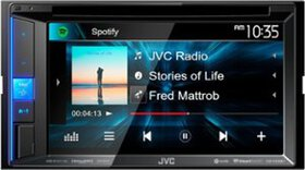 "JVC - 6.2"" - Built-in Bluetooth - In-Dash DVD Rece"