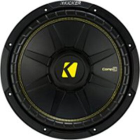 "KICKER - CompC 12"" Single-Voice-Coil 4-Ohm Subwoof"