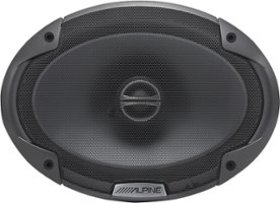 """Alpine - 6"""" x 9"""" 2-Way Coaxial Car Speakers with P"""