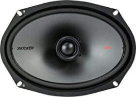"KICKER - 6"" x 9"" 3-Way Car Speakers with Polypropy"