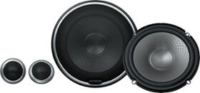 """Kenwood - 6-1/2"""" 2-Way Car Speakers with Polypropy"""