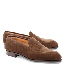 Brooks Brothers Edward Green Piccadilly Suede Loaf