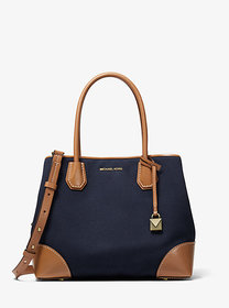 Michael Kors Mercer Gallery Medium Canvas Satchel