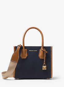 Michael Kors Mercer Canvas Crossbody