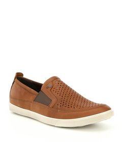 ECCO Mens Collin Perf Slip On Sneakers
