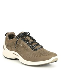 ECCO Men's Biom Fjuel Perforated Leather Sneakers