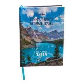 Lonely Planet Ultimate Travel 2018 Day Planner Boo