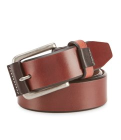 Johnston & Murphy Men's Wrapped Buckle Belt